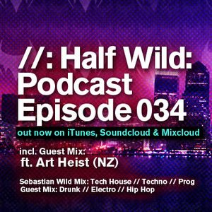 Half Wild: Podcast // Episode 034 // Guest Mix: Art Heist. (NZ)