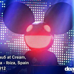 Deadmau5 at Cream, Amnesia - Ibiza, Spain 2012 by I ♥ Trance House music