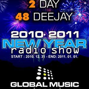 Melodious - NewYear Radioshow @ Globalparty.hu