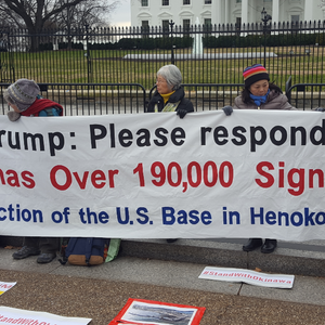 After 1,600 Days Of Protest, Okinawans Bring Fight To Washington