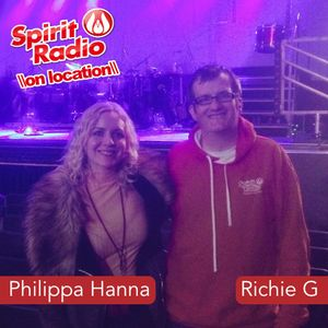 Philippa Hanna on location in Dublin chats with Richie G