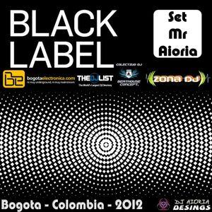 Set Mr Aioria - Black Label