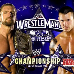WrestleMania 25: Triple H vs. Randy Orton