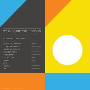 dollop - AVB - Sept 2011 Mix - Warm vs. Rhythm Section