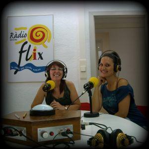 """Cristina Barrero al """"QUINA CALDA""""  de Ràdio Flix"""