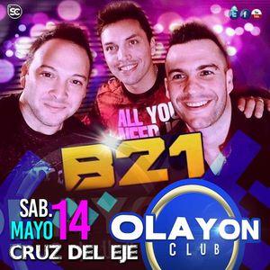 Banda XXI en Cruz del EJe 14 de Mayo 2016 (Primera Selección)