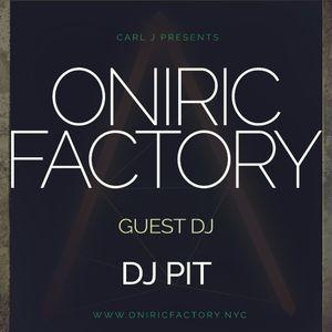 CARL J - Oniric Factory Radio Show November with DJ PIT