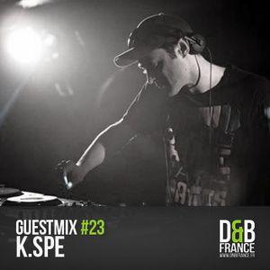 Guest Mix DnbFrance #23 - Kspé