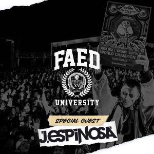 J. Espinosa on FAED University (Diplo's Revolution Channel on Sirius XM)