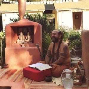 Krishna Tied to the Mortar /  Narada's Curse of Kubera's Sons