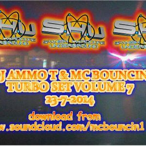 dj ammo t aka mc bouncin turbo set volume 7