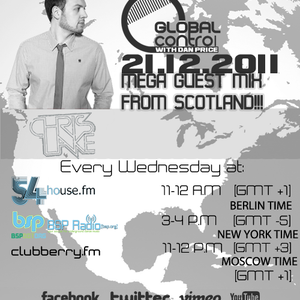 Dan Price - Global Control Episode 038 (21.12.11) Chris Lake Guestmix