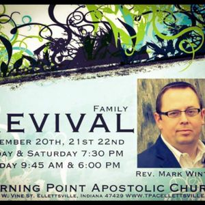 Friday Night Revival Rev. Mark Winters November 20, 2015