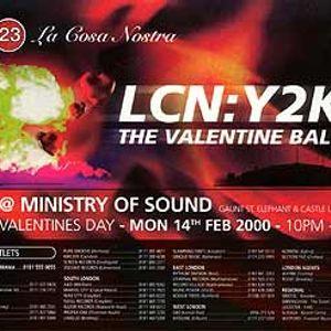DJ EZ @ La Cosa Nostra - The Valentine Ball 14/02/2000