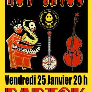 Hot Bayou live @ Bartok January 25th Part I
