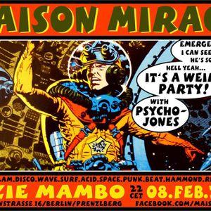 MAISON MIRAGE at SUZIE MAMBO/Berlin 2-2018