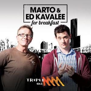 Marto & Ed Kavalee For Breakfast - 13/7/16