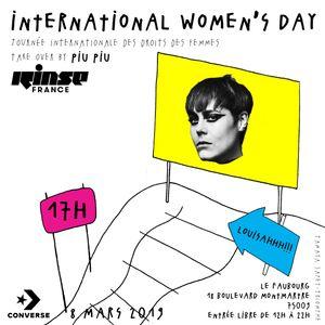 Women's Day Take Over : Louisahhh!!! - 08 Mars 2019