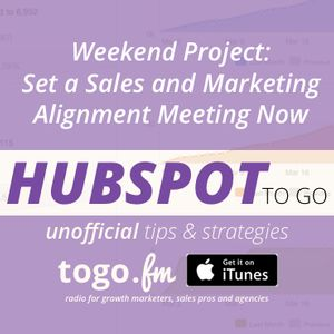 HTG #146 – Set a Sales and Marketing Alignment Meeting Now