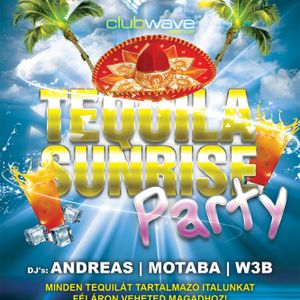 Andreas & Motaba & W3b - Live @ Club Wave Velence Tequila Sunrise Party 2012.07.14.