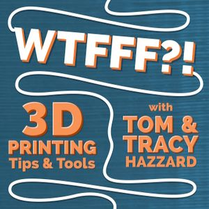 WTFFF 375: Digital Formed 3D Print Gift Angel