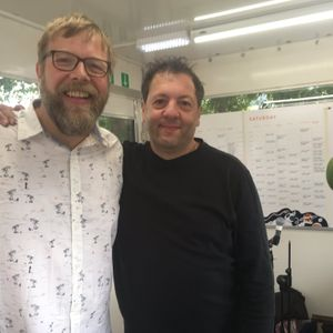 Saturday's Breakfast Show with Pete Paphides and Nathan James - Green Man Radio 2017