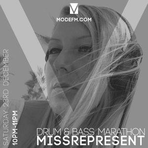 23/12/2017 -  Miss Represent (D&B Marathon) - Mode FM