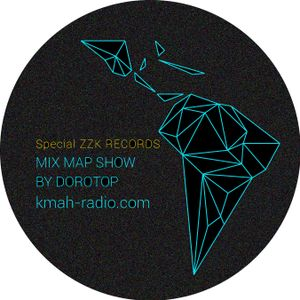 Mix Map Show on KMAH Radio #Special ZZK Records