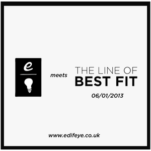 Edifeye Radio with Line of Best Fit - 6th January 2013