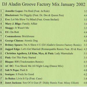 DJ Aladin - Groove Factory Mix January 2002