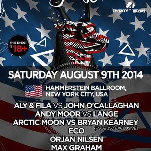 Aly & Fila b2b John O Callaghan  - Live At FSOE 350, Hammerstein Ballroom (New York) - 09-Aug-2014