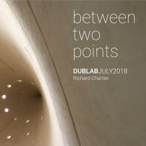 between two points. July 2018 radioshow by Richard Chartier  (for Dublab)