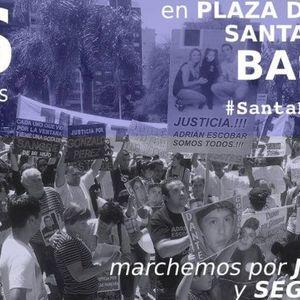 "Entrevista a Andrès Testi , organizador de la Marcha  ""Santa Fe Sangra"""