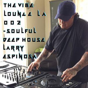 The Vibe Lounge LA Podcast 002 - Deep Soulful House - Larry Espinosa