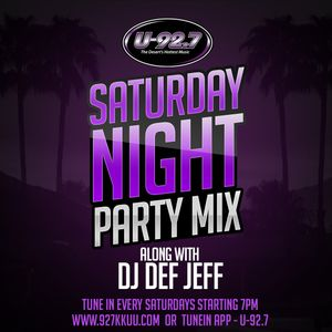 Def Jeff U-92.7 KKUU Party Mix 05-16-15 Mix 1