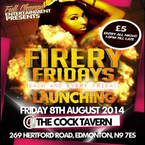 FIRERY FRIDAYS EVENT PROMO (MIXED BY DJ GENESIS) FULL MIX