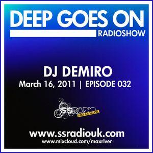 Deep Goes On 032 with DJ DeMiro