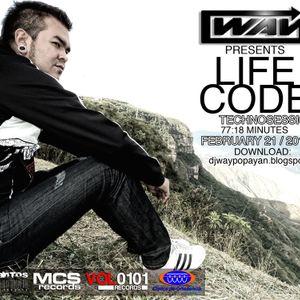 DJ WAY - LIFE CODE - TechnoSession - Febrero 21 / 2013