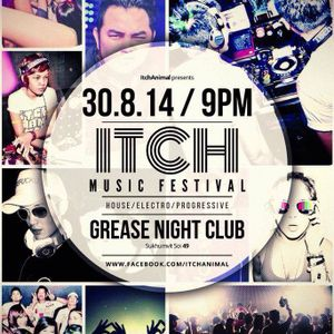 Dj Papew & MC M.A.D.K Live at Grease (Itch Music Festival) 30.8.14