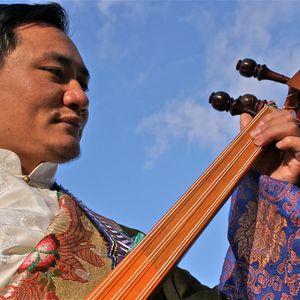 1st July 2015, Tibetan folk musician Ngawang Lodup Live in the Studio