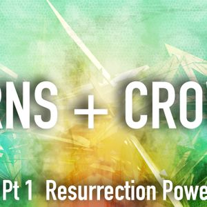 Thorns + Crowns Pt 1:  Resurrection Power