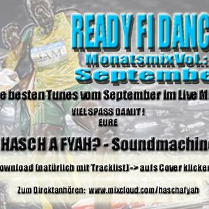 Ready fi Dance? Vol.8 SEPTEMBER Tunes
