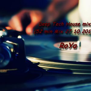 RoYa - Deep Tech House Mix (27.10.2012)