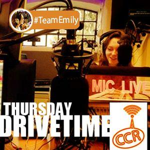 Emily Graves - 20/03/14 - Drivetime - @CCRDrivetime - Chelmsford Community Radio