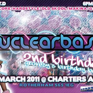 Nuclearbass 2nd Birthday @ The Charters Arms, Rotherham March 2011, Mc's Kritical, Foxy, 1Besi, Jone