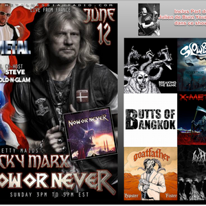 Le Tour Du Metal, DJ Cy - Special Now Or Never June 12th - JS8 of BYK Part