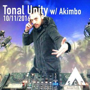Tonal Unity w/ Akimbo - 10/11/2016