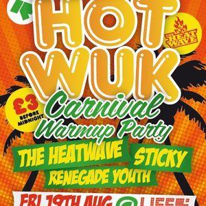 Live From Hot Wuk Brighton 19/08/11