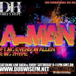 A-Man Feat. Ratpack Evenson Allen VOL 1