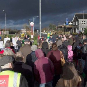 Rooskey Rally - No to Racism